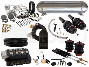 Complete Air Suspension Kit - 2009-2017 B8 Platform - LEVEL 3