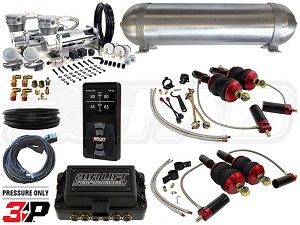 Complete Air Suspension Kit - 2008-2015 Audi R8 Platform - LEVEL 4 w/ Air Lift 3P