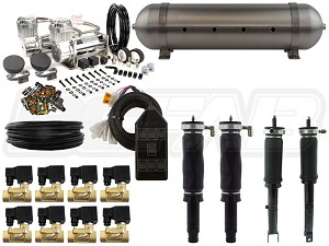 Complete Air Suspension Kit - 1992-2001 Honda Prelude - LEVEL 2