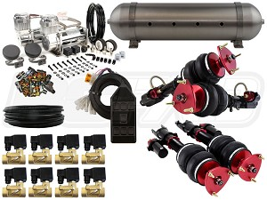 Complete Air Suspension Kit - 2008-2017 Nissan GT-R - LEVEL 2