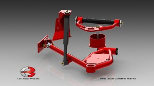 CB Chassis - 61-69 Lincoln Continental Front Control Arm Kit Stage 2